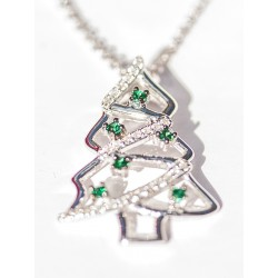 Kersthanger in de vorm van een kerstboom